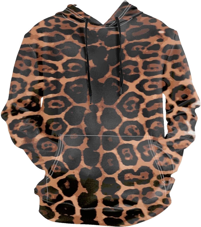 Imtailang Cop Panda Pullover Long Sleeve Hoodies Coat Loose Casual Sweatshirts with Pocket