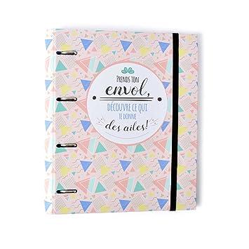 Grupo Erik Editores Carpeta 4 Anillas Troquelada Premium Amelie (Edtiado en Francés): Amazon.es: Oficina y papelería