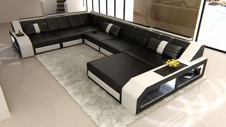 Amazon.com: Design Sectional Sofa MATERA With LED Lights: Kitchen U0026 Dining