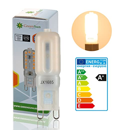 Neverland G9 Bombillas LED de 5 W 22 SMD 2835 LED Superbrillante de ahorro de energía ...