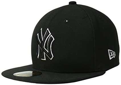 Amazon.com   MLB New York Yankees League Basic Wool Cap 7d53aedeb467