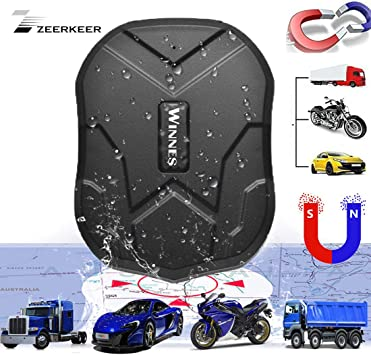 Zeerkeer GPS tracker, Localizador GPS TK905 Impermeable Imán ...