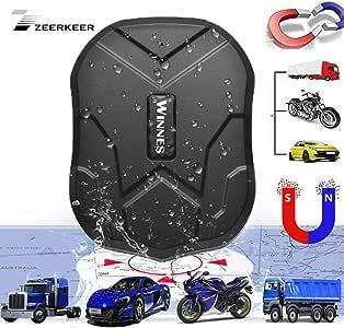 Zeerkeer Localizador GPS,Rastreador GPS para Coche Real Antirrobo ...
