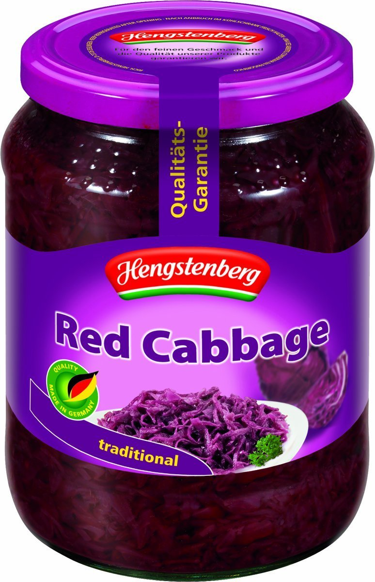 Hengstenberg Cabbage Red Rotessa, 24.3 oz
