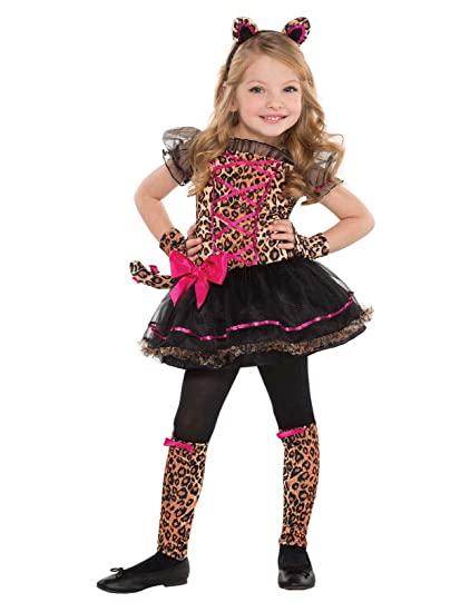 06884264370b Amazon.com: Amscan - Precious Leopard Toddler Costume: Toys & Games