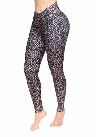 ddb81c5c53955 Multy colors stamped sport legging with internal body shaper strong dri fit  material at Amazon Women's Clothing store: