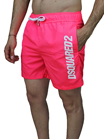 exclusive shoes new collection for whole family Dsquared 2 - Short de Bain - Homme Rose Rose Large: Amazon ...