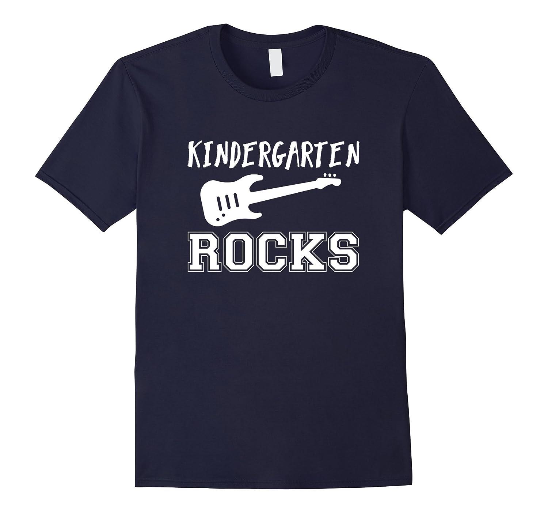 Cool Kindergarten Teacher T-Shirt: Music Lover Gift-FL
