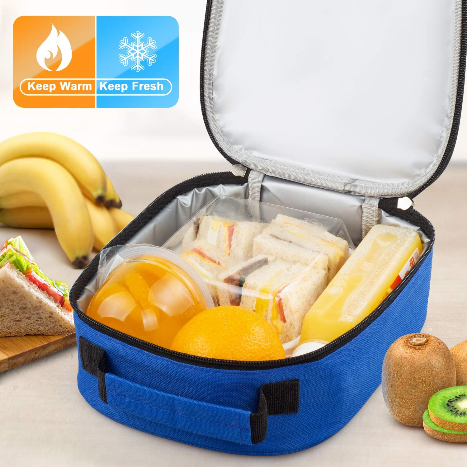 Kids Boys//Girls INSULATED LUNCH Box Pack School Food Picnic