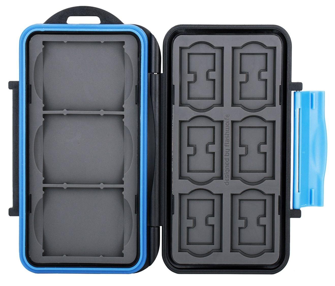 Sd12 speicherkartenbox para cada 12 SD//o tarjetas microSD
