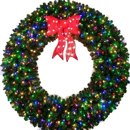 Christmas wreath plain. Amazon com foot multi