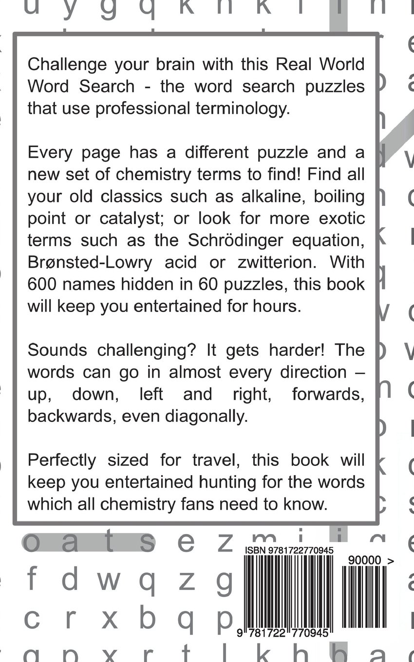 real world word search chemistry volume 5 arthur kundell