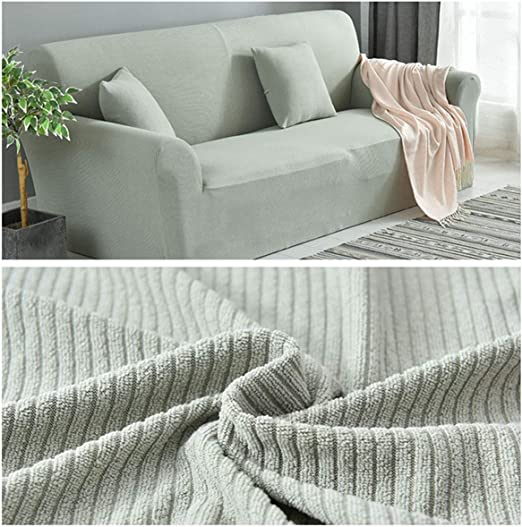 Stretch Ultra Soft L-Shaped Sectional Corner Armchair Loveseat Sofa Slipcovers