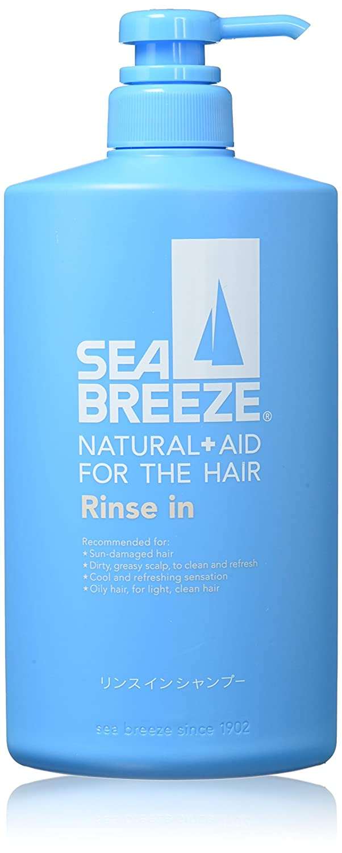 Shiseido SEA BREEZE   Hair Care Shampoo   Rinse - in - Shampoo 600ml