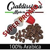 """cialdissima 100 CAPSULE CAFFÈ COMPATIBILI NESPRESSO! """"LE ARABICHE"""" ARABICUS TRE GUSTI MISTI 100% ARABICA!"""
