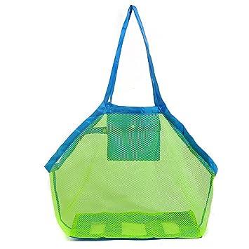 Amazon.com: extragrande bolsa de playa de malla bolsa ...