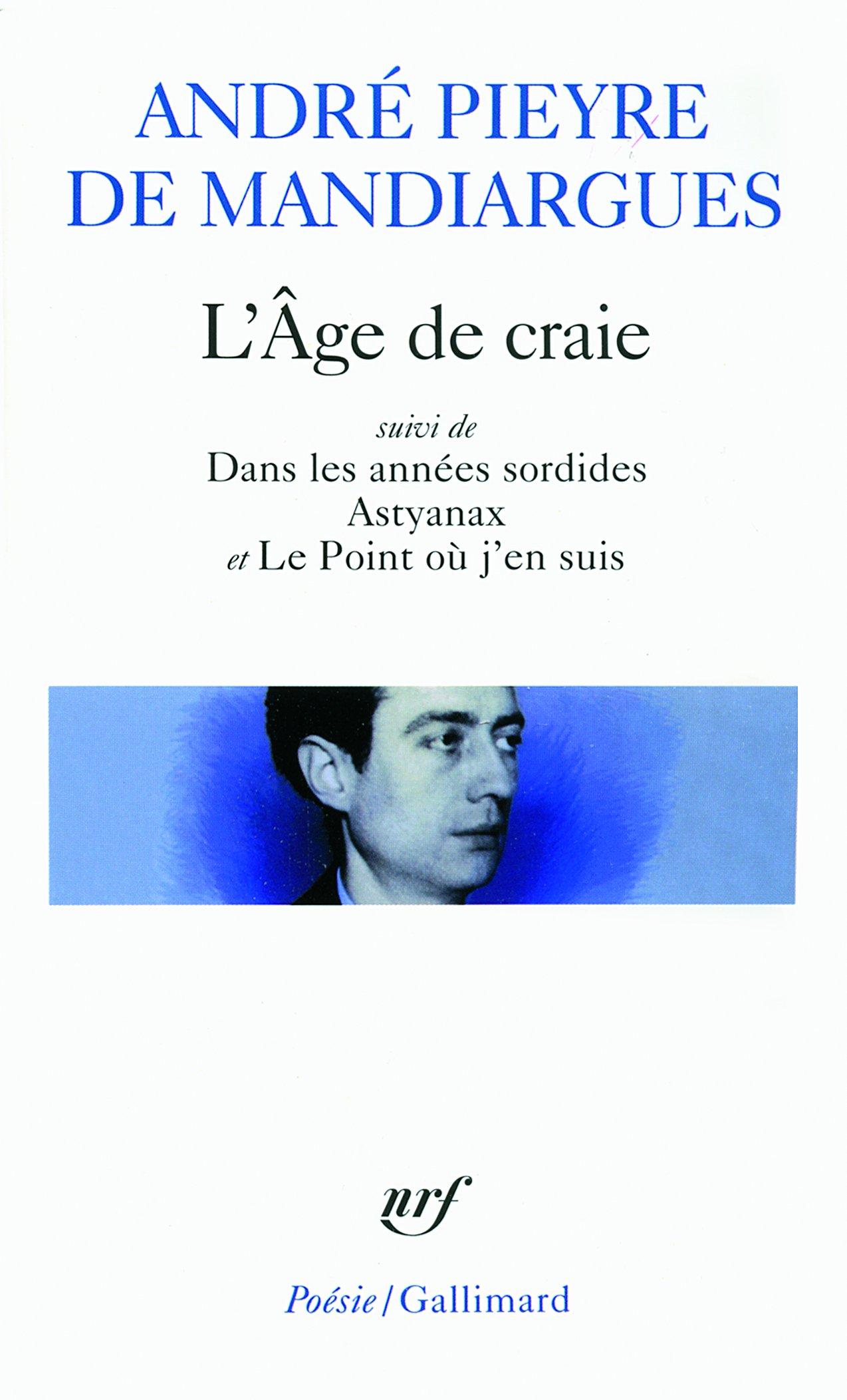 Download Age de Craie/Dans Les Anne (Poesie/Gallimard) (French Edition) pdf epub