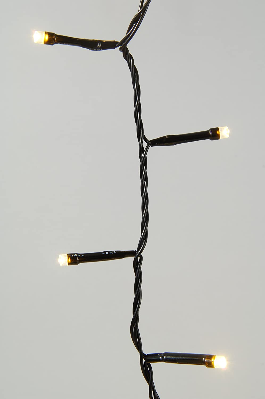 192/luci bianco caldo con funzione Twinkle Java Exclusiv 51039/catena di luci led a batteria con Timer per interni ed esterni