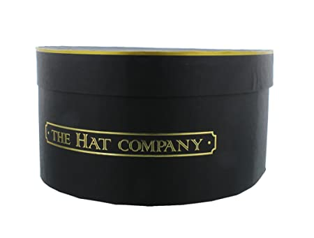 Exceptionnel The Hat Company Hat Storage Box Black U0026 Gold
