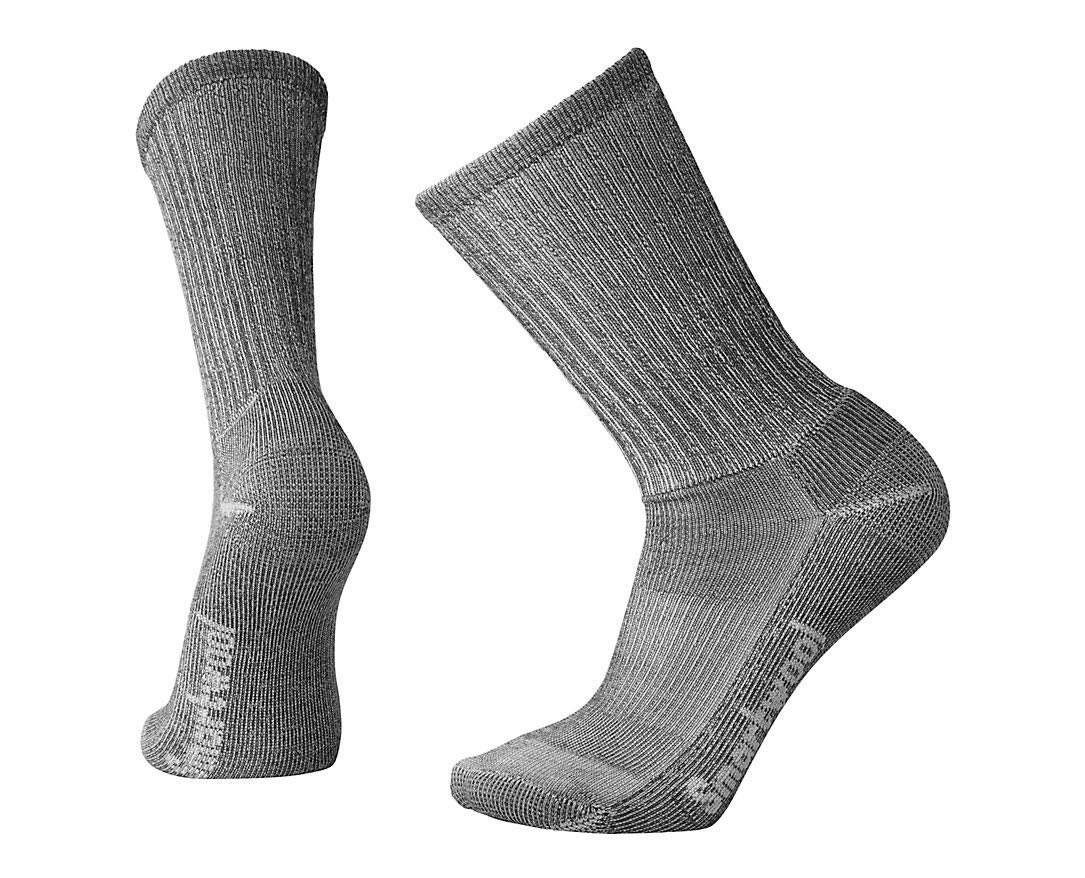 Smartwool Hiking Light Crew Mens Color: Gray Size: XL(12.0 - 14.5) by Smartwool