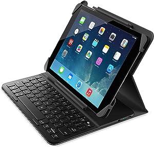 Belkin Slim Style Keyboard Case for iPad Air 2 and iPad Air (Blacktop / Gravel)