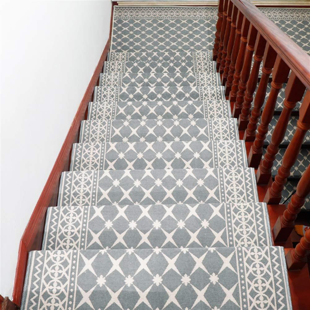 Liveinu Moderner Stil Selbstklebend Stufenmatten Treppen Teppich Teppich Teppich Waschbar Starke Befestigung Anthrazit Treppen-Matten 30x85cm (15 Stück) Kaffee Rechteck B07MNYKWP6 Stufenmatten a473ce