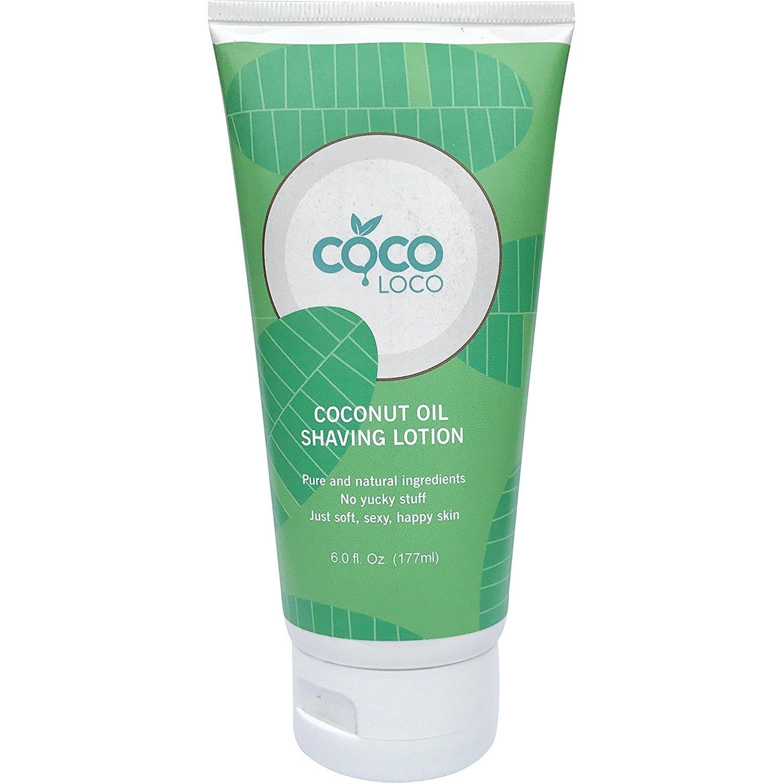 Coco Loco coconut oil shaving lotion, 6.0 oz CLPSL