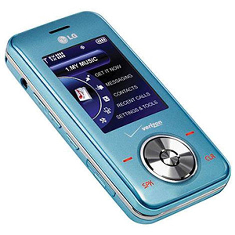Amazon.com: LG VX8550 Chocolate 2 Verizon Phone - Light Blue: Cell ...
