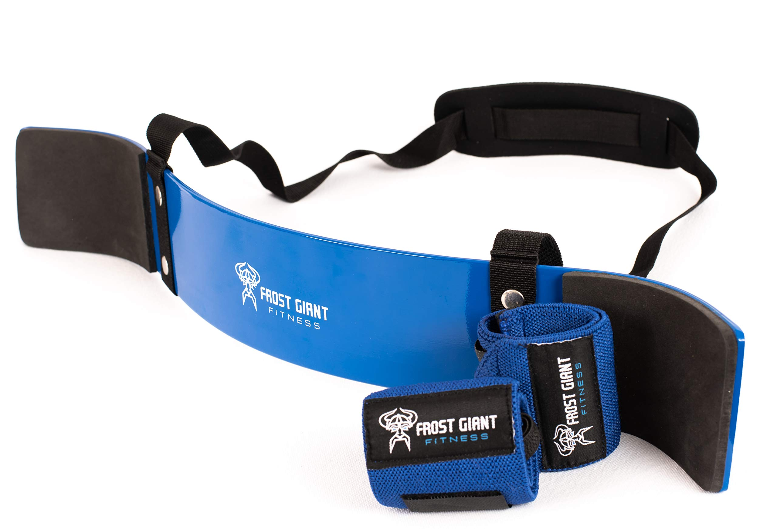 Frost Giant Fitness Heavy Duty Arm Blaster Pro + Bonus Wrist Wraps Support | Isolate Muscles for Maximum Strength. Perfect Bicep Curl Support for Faster Results. Biceps, Tricep & Upper Body Workout