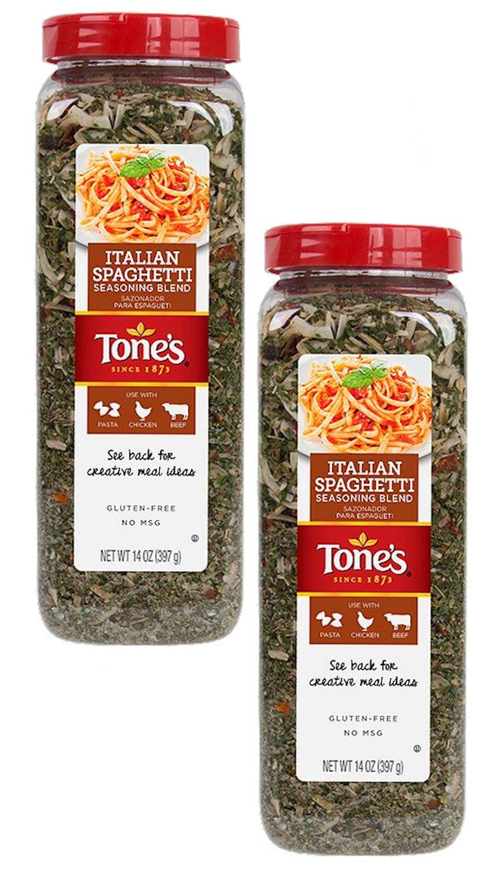 Pack of 2 Italian Spaghetti Seasoning Blend 14 Oz Each