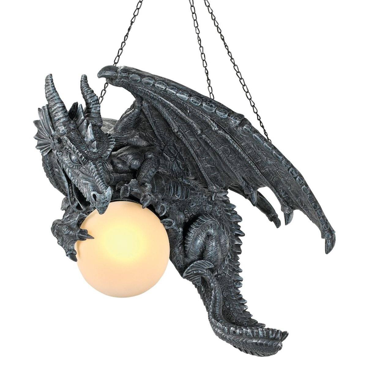 Exceptional Amazon.com: Design Toscano Nights Fury Sculptural Hanging Dragon Lamp:  Kitchen U0026 Dining