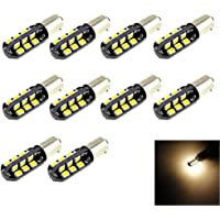 BA9 BA9S T4 W 53 57 1895 64111 LED bombillas, 24 – 2835 SMD LED, luces
