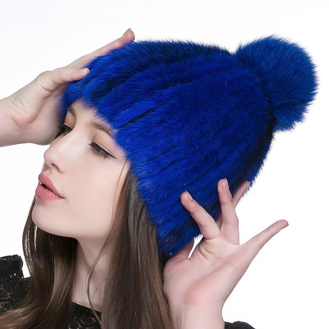 URSFUR HAT レディース One Size ブルー B0189GPLAU