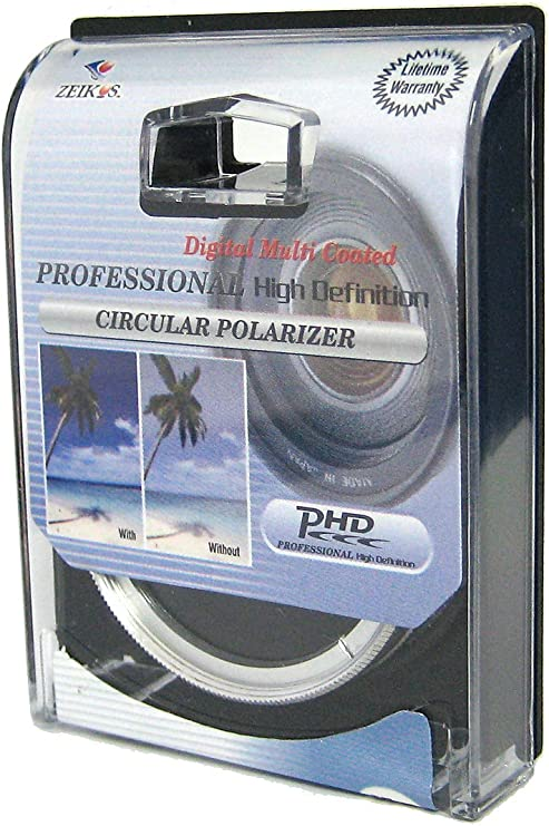 Zeikos ZE-CPL30 30mm Multi-Coated Circular Polarizer Filter
