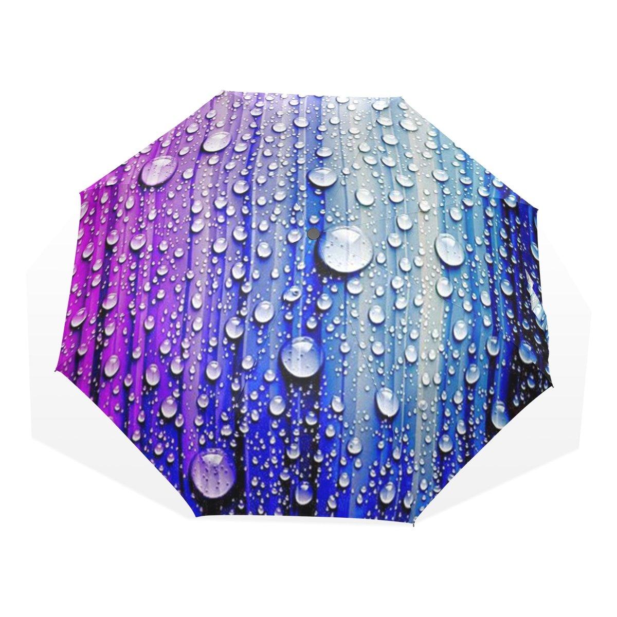 leisisi耐久性ポータブルコンパクト折りたたみ傘防風UV保護傘 B076ZV4S29umbrella-3