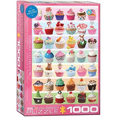 EuroGraphics Cupcake Celebration Puzzle (1000-Piece): Toys & Games