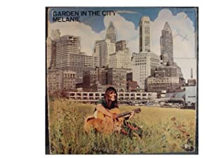 MELANIE GARDEN IN THE CITY vinyl record