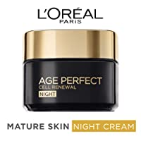 L'OREAL PARIS Age Perfect Cell Renewal Regenerating Night Cream, 50 Milliliter, Pack of 6