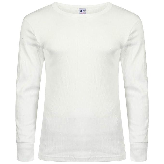 WOH - Camiseta Interior - para Hombre Gris Small