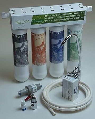 Oferta amazon: Sistema de filtrado ultrafiltracion de agua Nelva UF-0206-12