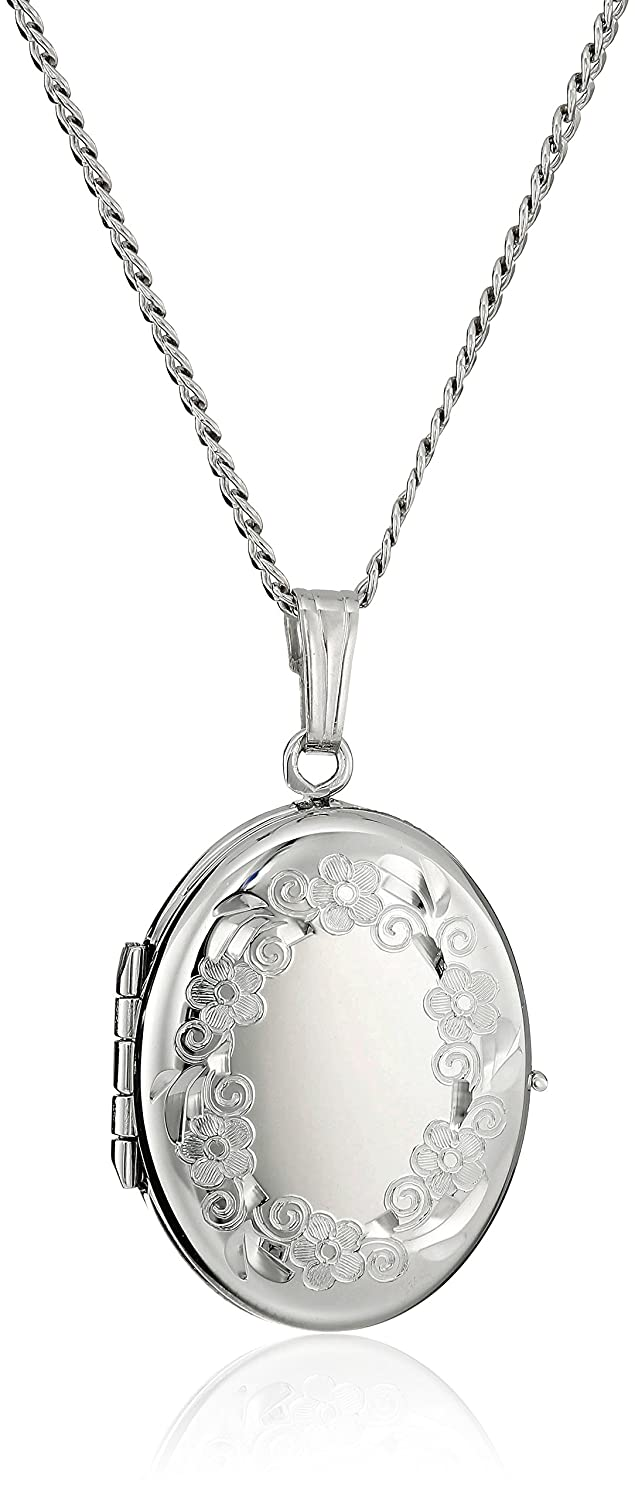 back engraved locket pattern silver sterling personalised lockets scroll large eng extra