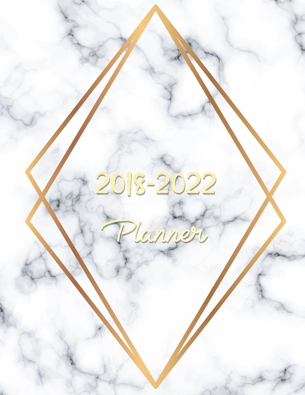 2018-2022 Planner: Agenda Planner For The Next Five Years ...