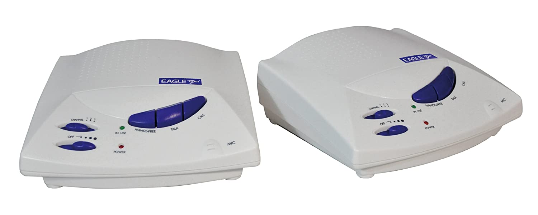 White Eagle 3 Channel Hands-Free Wireless Intercom