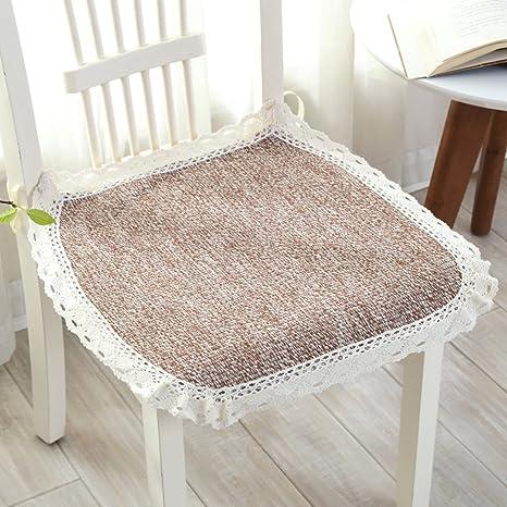 OSHDKSLDS Cojines de Silla de Comedor sillas Cojines algodón ...