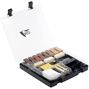 AGT WRS-11 - Juego de utensilios para reparación de suelos de parqué, laminados y superficies de madera
