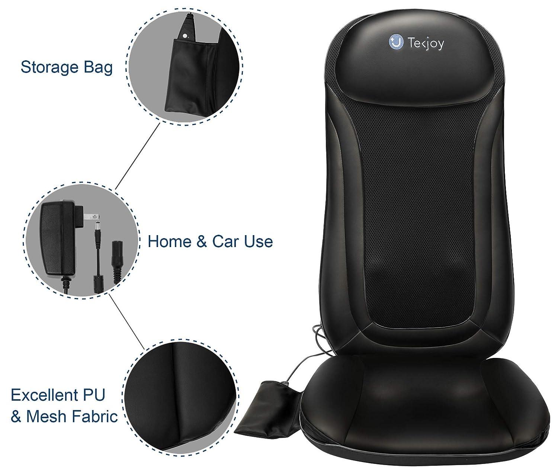Amazon.com: tekjoy climatizada silla – Masajeador de ...