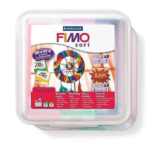 8 opinioni per Staedtler- 8023 50 LX- Fimo Soft Class Pack, Set di pasta da modellare, con