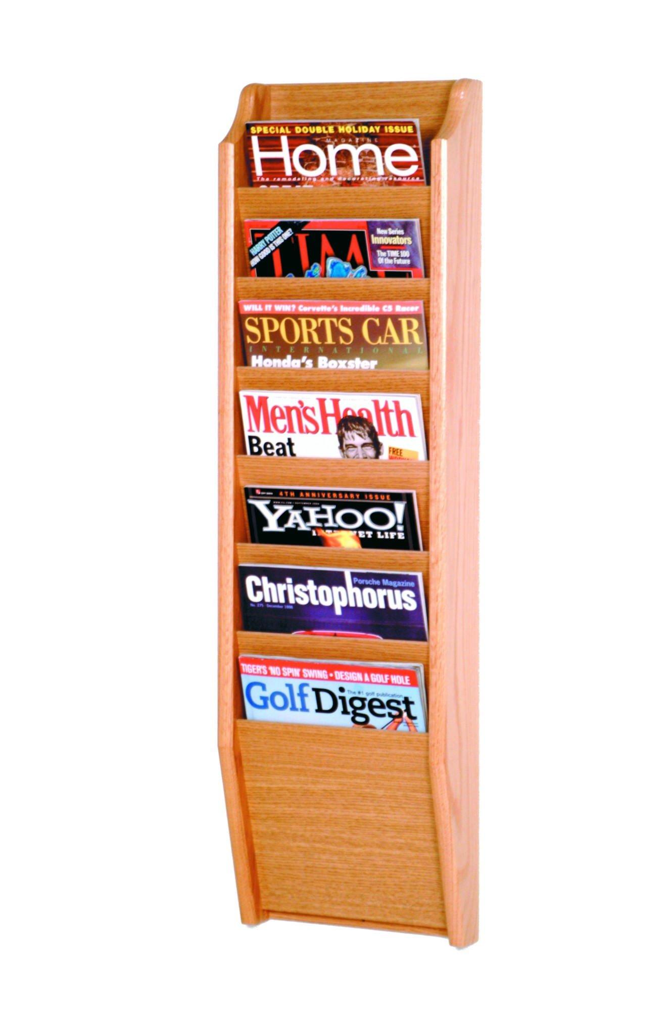 Luggage Pros 7 Pocket Magazine Wall Rack