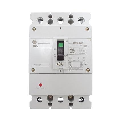General Electric FBN36TE040RV Naval Circuit Breaker, FBN, 3 ... on