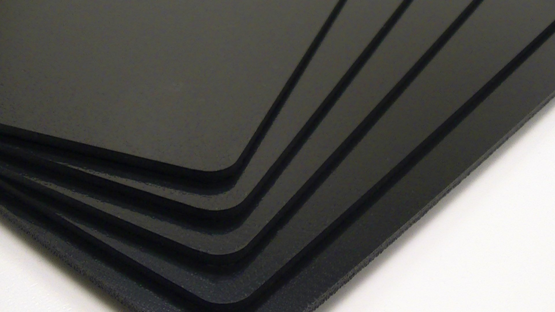 Utilaboard 2x Expansion Closed Cell Microcellular Extruded Polypropylene PP Foam Sheet 6 mm x 24 x 48 Inch Black Half the Weight of Solid HDPE Sheet High Density Polyethylene Replacement, 5/Pack by Utilaboard